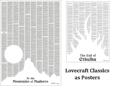 Lovecraft Posters Now in Stock