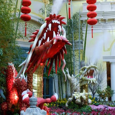 Bead And Needle Bellagio Year Of The Dragon Display