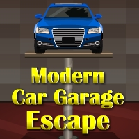 GenieFunGames Modern Car Garage Escape