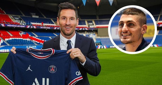 Verratti Reacts to having Messi as a teammate:'I didn't believe it'