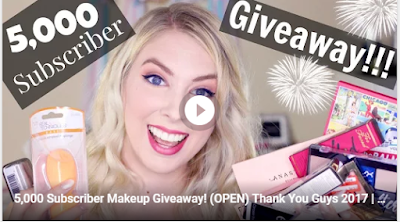 makeup products giveaways
