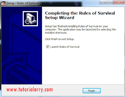 Cara Instal Game Rule of Survival Di PC