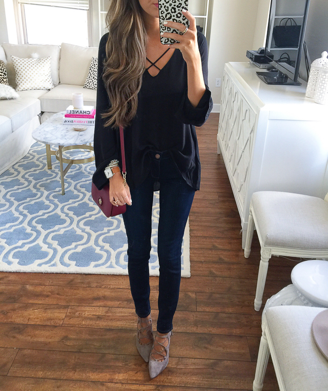 Nordstrom Anniversary Sale date night outfit