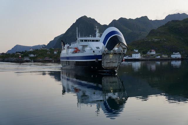 ferry na Noruega