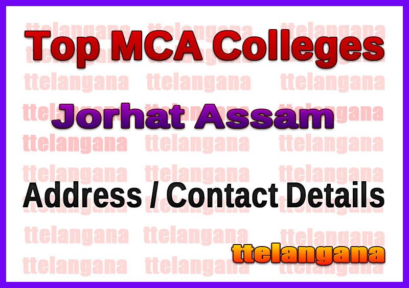 Top MCA Colleges in Jorhat Assam