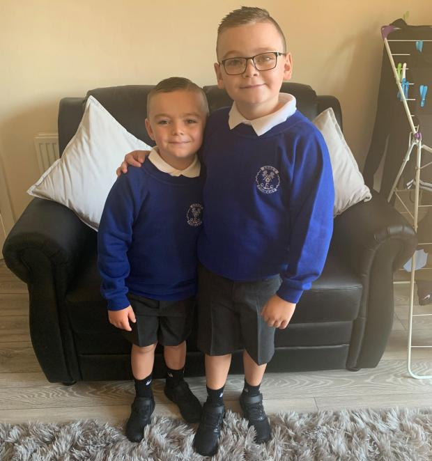 Brave Morden boy back at school after brain tumour returns for third time