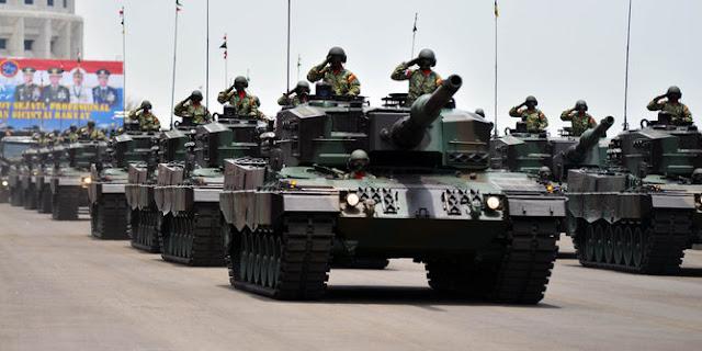 Main Battle Tank Leopard Milik TNI AD Masih Nganggur