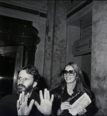 Ringo And Barbara On The Day In Question