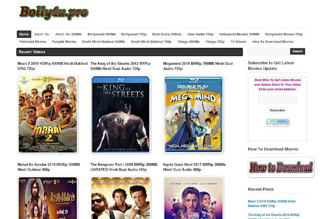 Although it is a pirated movies site, but it gives people the opportunity to download movies for free. So today I thought, why am I going to provide you all the necessary information about Bolly4u in Hindi. Which is very important for you to know from all points of view. Then let's start without delay.