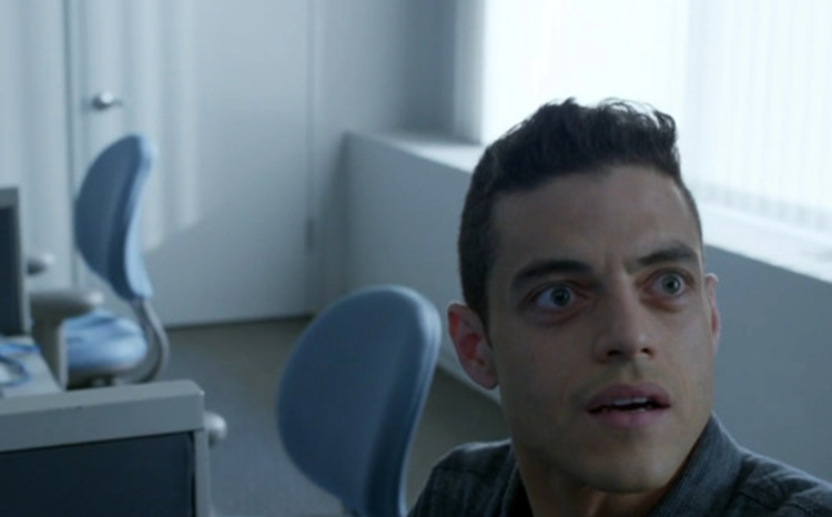 Mr. Robot empty space