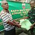 Karya Bakti TNI Koramil 02/MT Dim 0201/BS Beri Bantuan Seribu Jamban Untuk Masyarakat Kurang Mampu