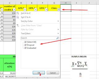 Filter Data in Excel