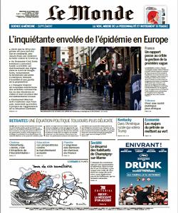 lemonde, le monde magazine 14 October 2020, le monde magazine, le monde news, free pdf magazine download.