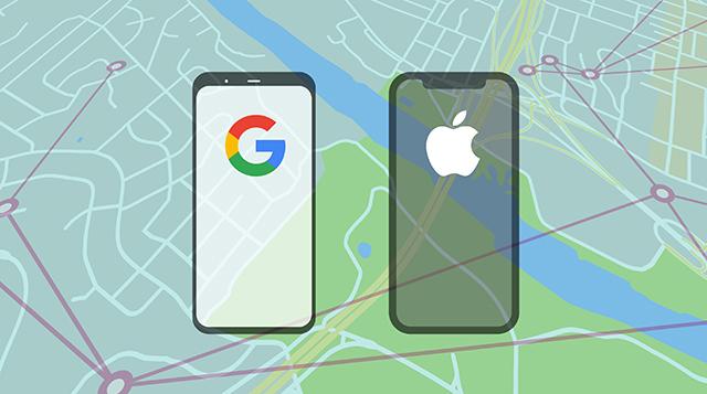 Apple google project -  مشروع جوجل آبل كورونا حول العالم cover