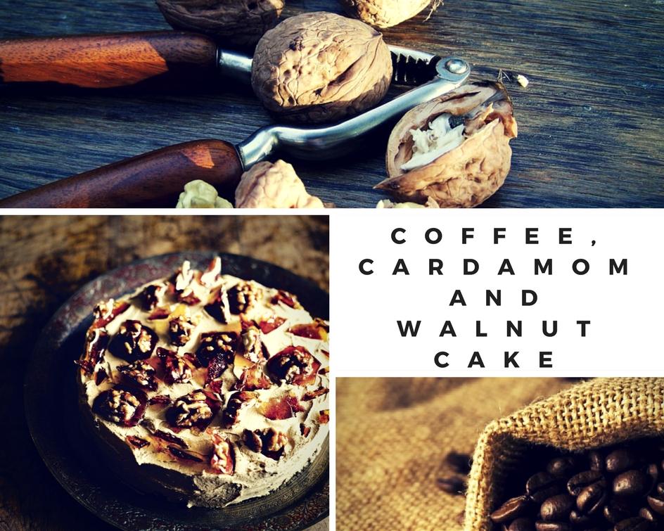 Fiona Cairns' Coffee, Cardamom And Walnut Cake