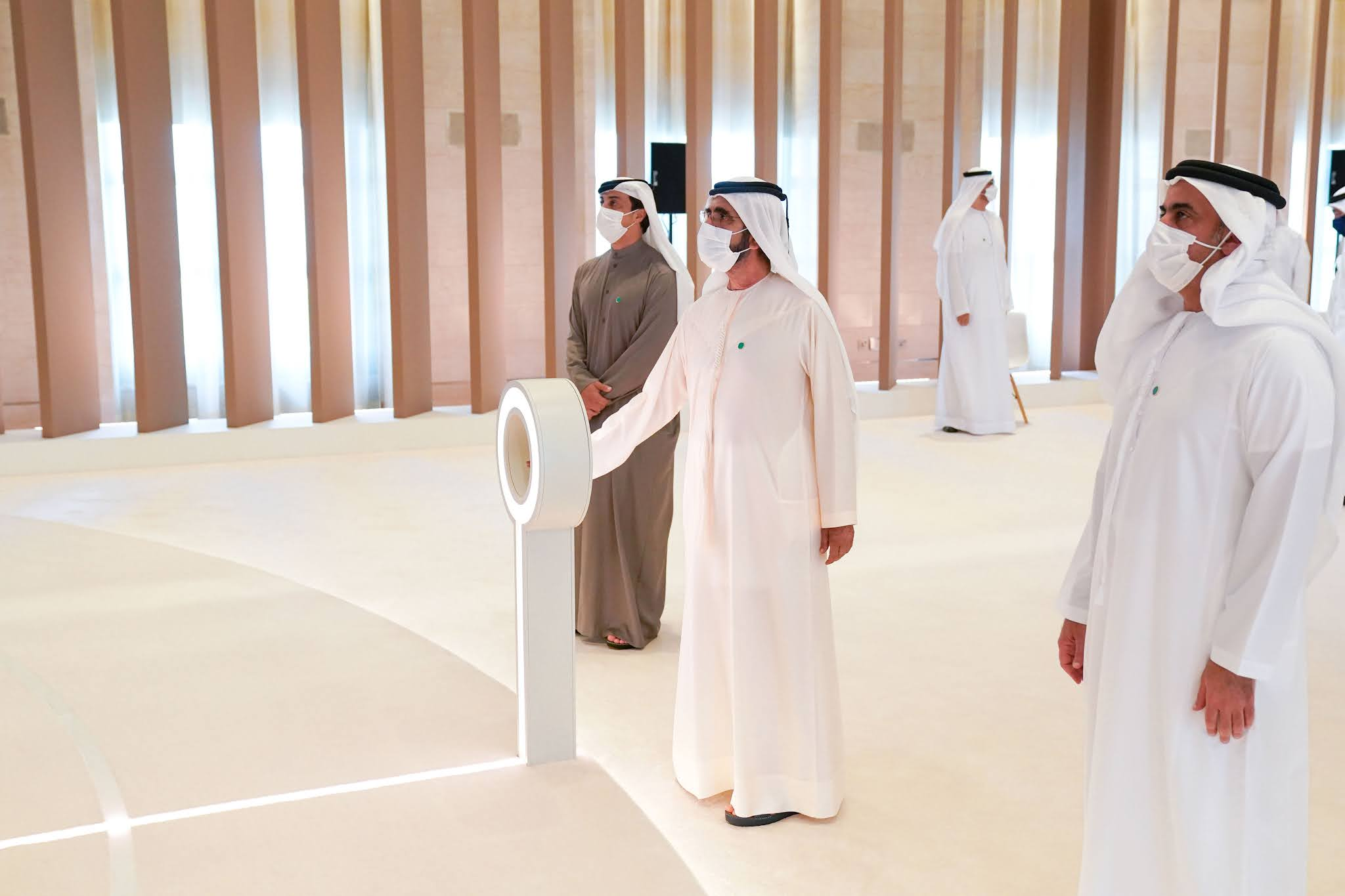 Sheikh Mohammed initiates operation to advance UAE industrial sector