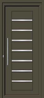 Pintu aluminium Inova paling murah