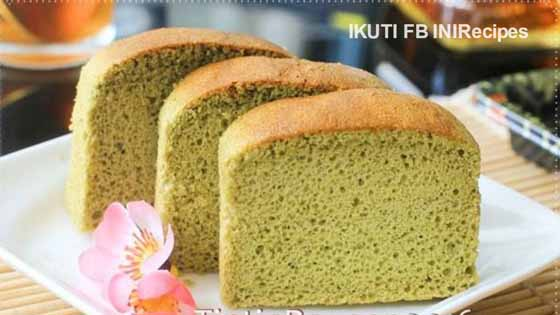 Japan Honey Cake Recipe: Castella Green Tea Aka Kasutera Atau Traditional Japanese
