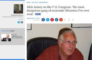 Dick Armey Congress economics