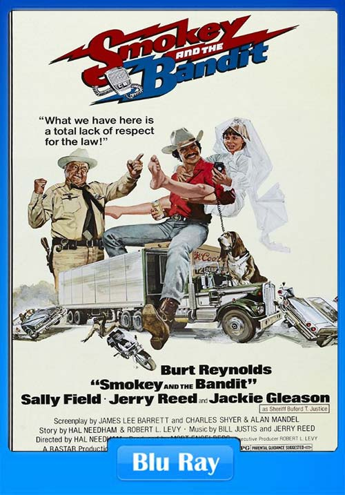 Smokey and the Bandit 1977 Hindi 720p BluRay Dual Audio x264 | 480p 300MB | 100MB HEVC