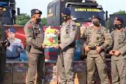 Peduli Banjir Masamba, Korps Brimob Polri Salurkan Bantuan di Luwu Utara