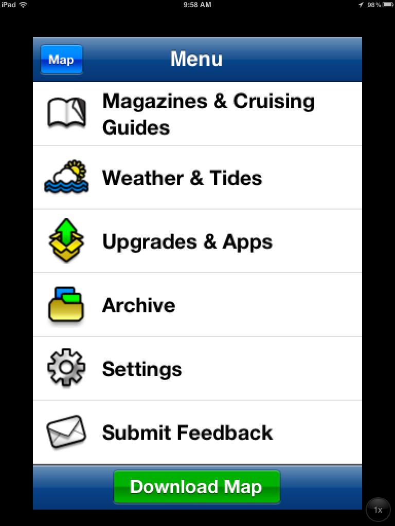 i-Marine Apps: Navionics Nav Module