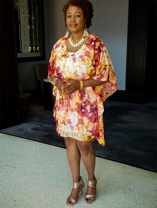 Janet attending an Atlanta Tuskegee University Alumni scholarship event
