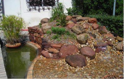 rocallas estanque