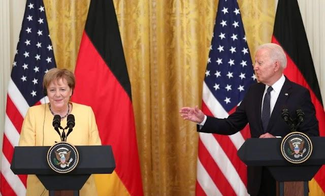 Байден та Меркель підписали Вашингтонську декларацію: що вона передбачає