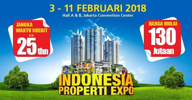 pameran rumah murah di Jakarta 2018 Februari