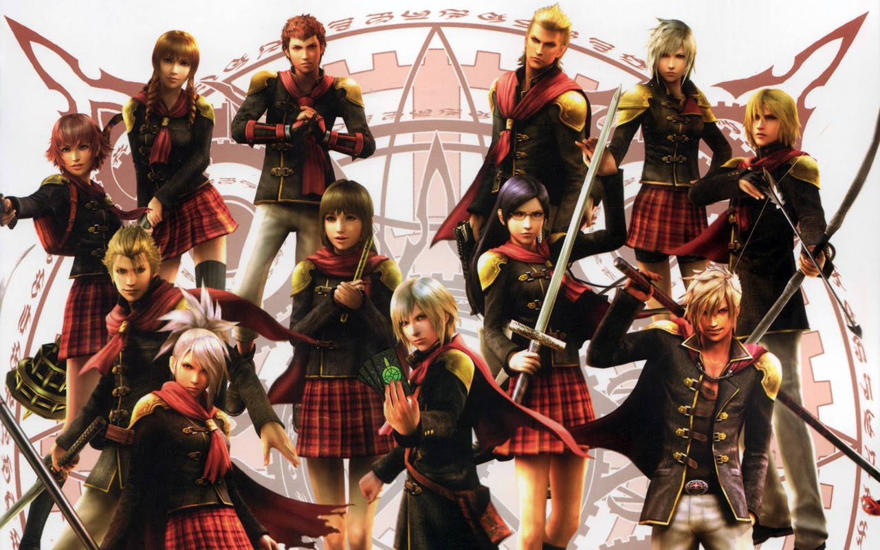 Final Fantasy Cosplay: Cool Final Fantasy Type-0 Cosplay Group