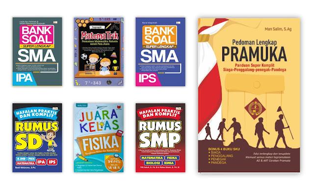Buku Penunjang Pelajaran Sekolah (SD, SMP dan SMA) Untuk Koleksi Perpustakaan Desa