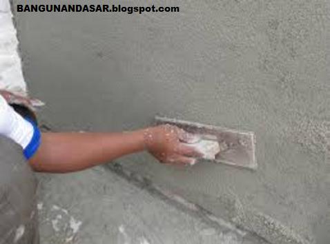 Cara Menghitung Kebutuhan Pengerjaan Plesteran Dinding