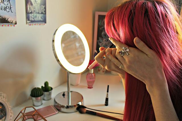 Pebble Grey LED Vanity Mirror
