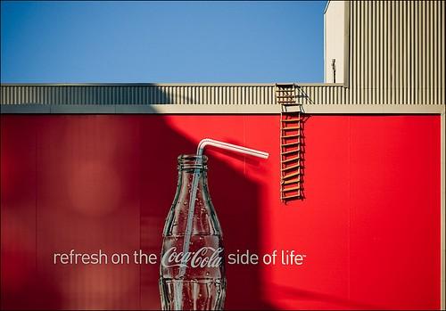 os outdoor mais criativos da coca cola - Os outdoors mais criativos que você já viu