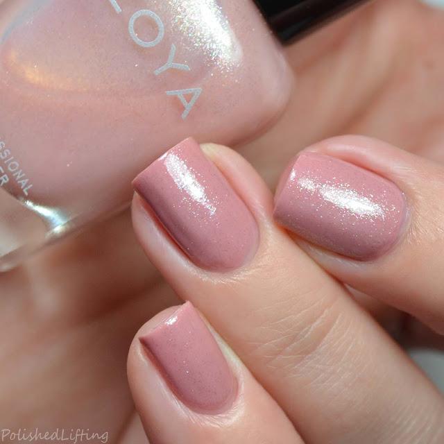 shimmery nail polish topper