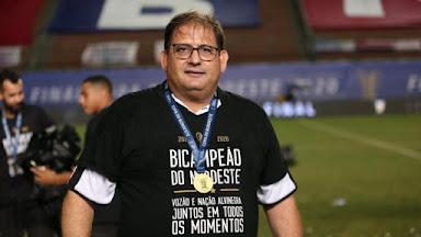 Guto Ferreira completa um ano à frente do Ceará com muitos desafios em 2021