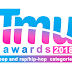 tmu awards: pop and rap/hip-hop categories