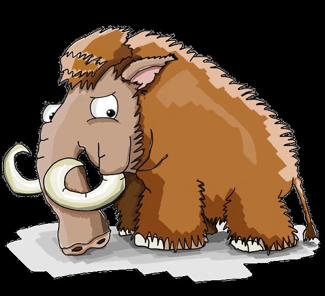 gambar kartun gajah PNG