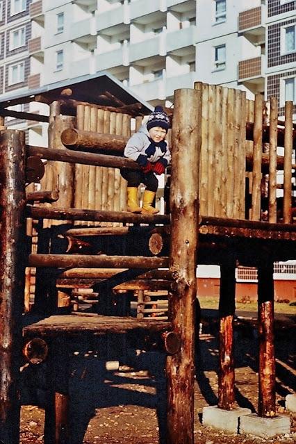 1990 год. Рига. Золитуде. Детский городок на улице Русес. Фото: Юлия и Андрей Воротынцевы