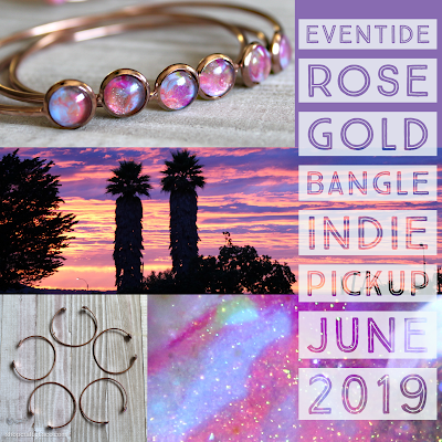 June 2019 Indie Pickup | Eventide Rose Gold Bangle