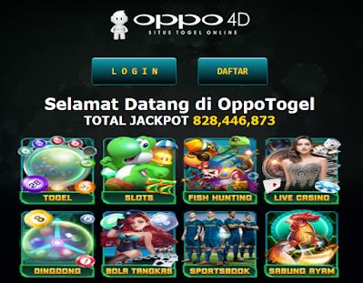Situs Togel Online Terpercaya hanya di Oppotogel