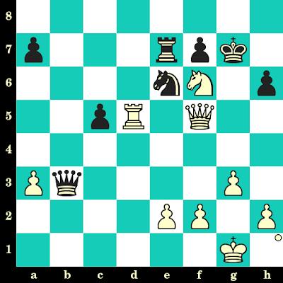Les Blancs jouent et matent en 2 coups - Magnus Carlsen vs Vugar Gashimov, Moscou, 2009