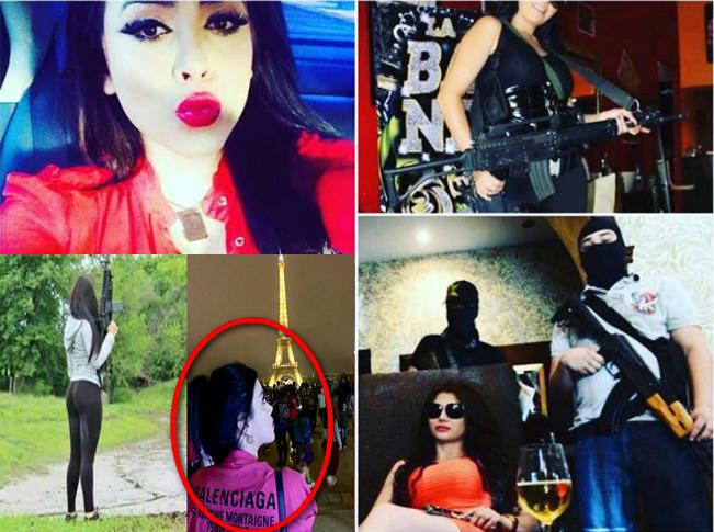 """Reaparece con su vida de lujos y fiestas Claudia Ochoa la sensual """"Emperatriz Antrax'"""" anda de vacaciones por Europa"""