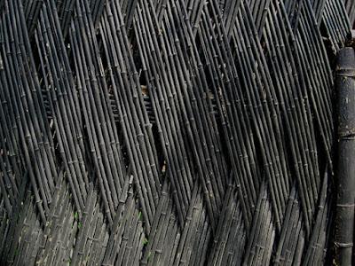 Bambu merupakan flora multifungsi yang dapat dipakai untuk bangunan 40 Ide Desain Pagar Bambu Unik Sederhana