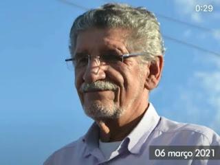 Prefeito de Conquista Herzem Gusmão volta para a UTI para repor oxigênio e pede orações