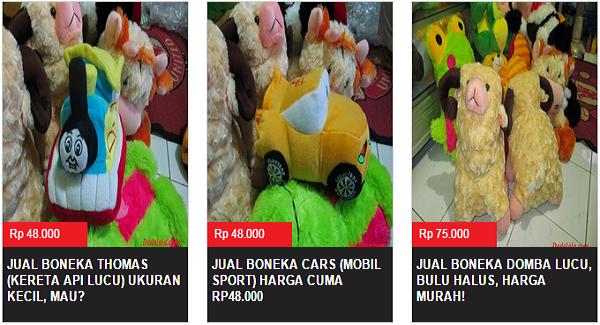 Dadalala : Jual Boneka Online