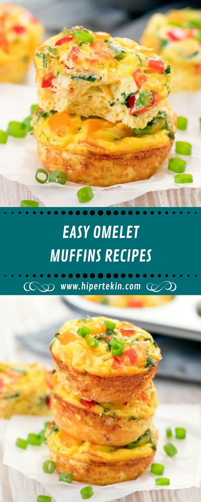 EASY OMELET MUFFINS RECIPES