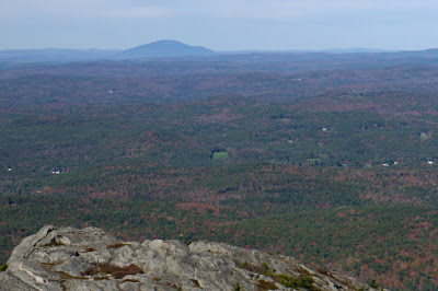 Mt. Sunapee as seen from top of Mt. Monadnock