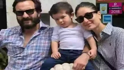 Saif Ali Khan along with Kareena and Taimur went out of the house to walk on Marine Drive without Mask